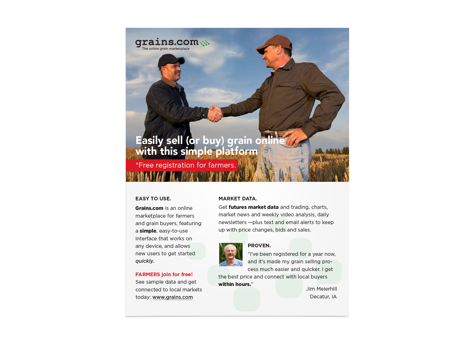 agtech grains print one pager